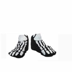 chaussons-sur-chaussure-courts-noirs-adulte-motif
