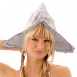 modèle de démonstration Bonnet de fermière coton blanc hollandaise en broderie anglaise et petite dentelle