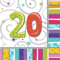 16-grandes-serviettes-anniversaire-20-ans-327-cm-x-327-cm-papi