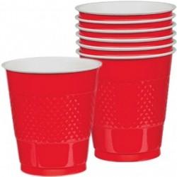 20-gobelets-plastique-rouge-354-ml-interieur-blanc