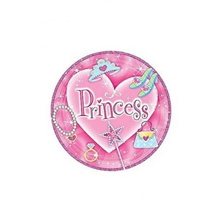 8-assiettes-princess-o-229-cm-princesse-rose