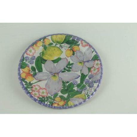 10-assiettes-plates-colorees-motifs-fleurs-et-fruits-o-23-cm