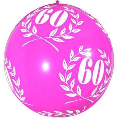 1-ballon-de-baudruche-60-ans-rose-fuchsia-80-cm-laurier