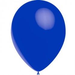 100 Ballons de Baudruche Standard bleu dark 30 cm Ø
