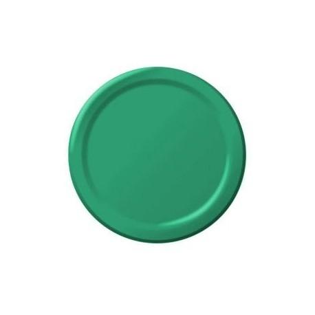 8-petites-assiettes-vertes-178-cm-en-carton