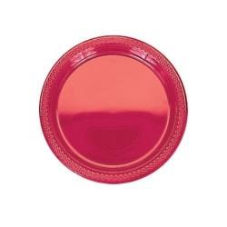 20-assiettes-plates-en-plastique-rouge-o-178-cm
