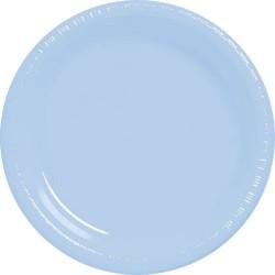 20-assiettes-plates-en-plastique-bleu-ciel-poudre-o-178-cm