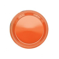 20-assiettes-plates-en-plastique-orange-o-178-cm