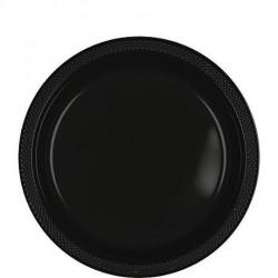 20-assiettes-plates-en-plastique-noir-o-178-cm