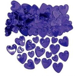confettis-de-table-coeurs-en-plastique-metallise-violet-a-relief