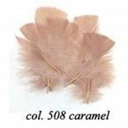 Sachet de 10gr de plumes caramel plumes véritables