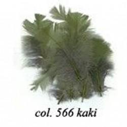 Plumes duvet Kaki Sachet de plumes 10gr plumes véritables