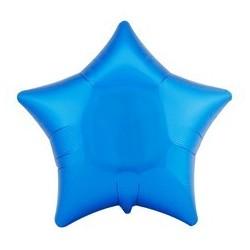 ballon-etoile-bleu-metallise-anagram-mylar