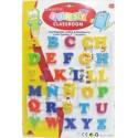 lettres magnétiques alphabet multicolores
