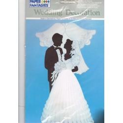 couple-de-maries-silhouette-et-carillons-en-papier-alveole