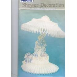 decoration-de-table-ombrelle-blanche-en-papier-alveole