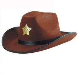 chapeau-cow-boy-marron-en-feutrine-avec-biais-noir