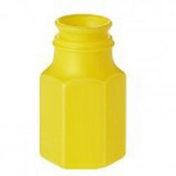 1-bouteille-de-bulles-de-forme-hexagonale-couleur-unie