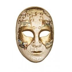 masque-neutre-facon-venise-dore-decor-craquele