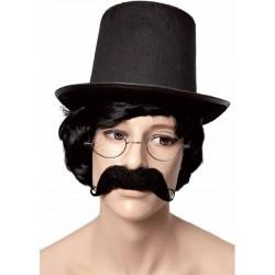 chapeau-haut-de-forme-rocambole-noir-en-feutrine-13-cm