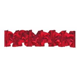 1-metre-de-ruban-satin-ruche-rouge-sur-elastique-rouge