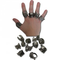 bague-metal-argente-modeles-assortis-biker