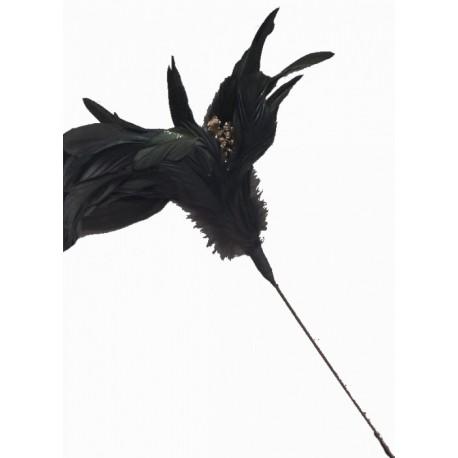 superbe-fleur-en-plumes-noires-naturelles-souples-o-20-a-21cm