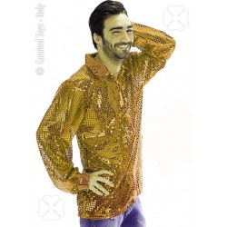 chemise-a-paillettes-dorees