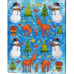 114-stickers-autocollants-sapin-bonhomme-neige-etoiles-rennes
