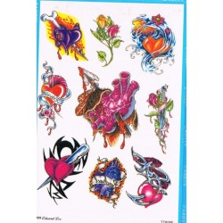 1-tatouage-temporaire-motif-coeurs-fleurs-armes-jhonny