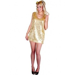 robe-tunique-paillettes-dorees-disco-t-38