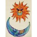 Tatoo lune soleil méchants