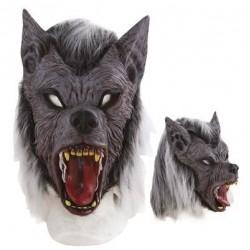 masque-de-loup-garou-mechant-avec-poils-et-cheveux-gris