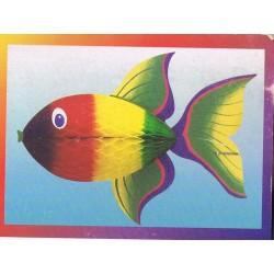poisson-exotique-arc-en-ciel-en-papier-alveole