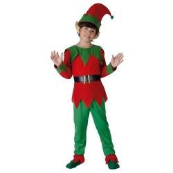 lutin-de-noel-vert-et-rouge-enfant-taille-7-8-ans