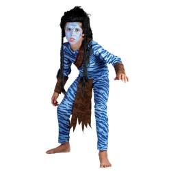 homme-bleu-de-la-jungle-guerrier-garcon-taille-5-a-7-ans
