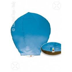 Lanterne céleste bleu turquoise sky lanterne bougie intégrée
