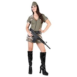 robe-camouflage-militaire-fille-soldat-taille-42-m-l