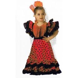 espagnole-sevillane-rouge-a-pois-noir-taille-3-5-ans