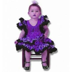 espagnole-sevillane-violette-a-pois-noir-taille-1-2-ans