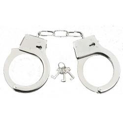 menottes-metal-handcuffs-avec-clefs