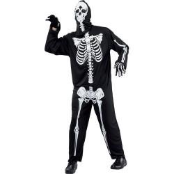 Combinaison squelette taille unique adulte