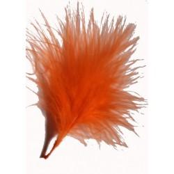 plumes-marabout-orange-5-grammes-plumes-veritables