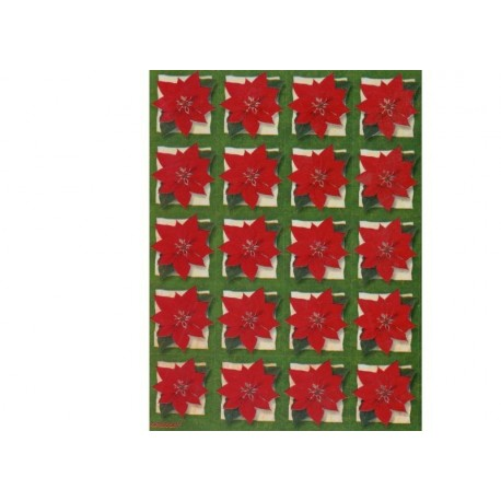 80-stickers-autocollants-de-fleurs-de-noel-poinsetia