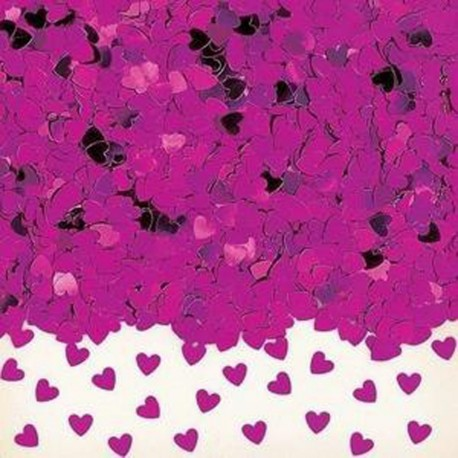confettis-de-table-petits-coeurs-en-plastique-metallise-fuchsia
