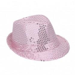 borsalino-en-tissu-rose-pale-avec-paillettes-pale-taille-58