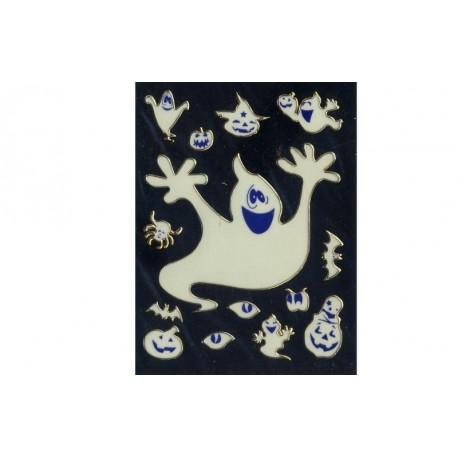 stickers-en-3d-d-halloween-fantome-citrouille-araignee