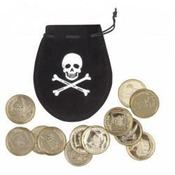 bourse-noire-de-pirate-avec-12-pieces-d-or
