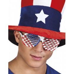 lunettes-shutter-blanches-avec-drapeau-americain-flag-usa
