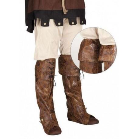 couvre-bottes-de-pirate-sur-bottes-facon-faux-cuir-marron